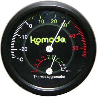 Thermomètre hygromètre combiné analogique de Komodo