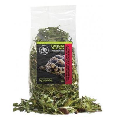 """Mélange de feuilles et fruits séchés pour tortues terrestres """"Tortoise fruit mix"""" Komodo"""