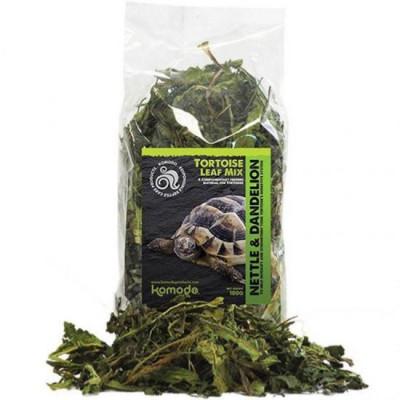 """Mélange de feuilles séchées d'orties pour tortues terrestres et lézards herbivores """"Nettle leaf"""" Komodo"""
