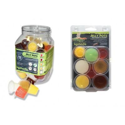 Jelly pots mixed flavours de Komodo