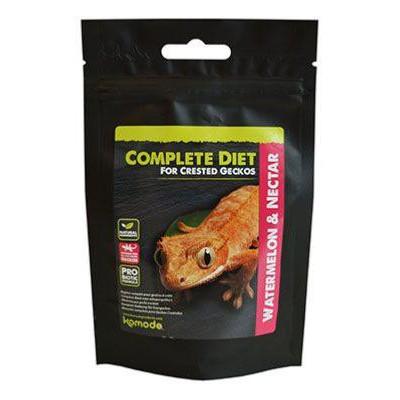 Alimentation complète pour gecko à crête à la pastèque et autres nectars de Komodo