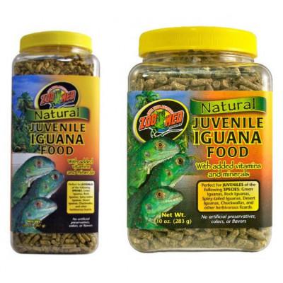 Alimentation granulée pour iguanes juvéniles de Zoomed