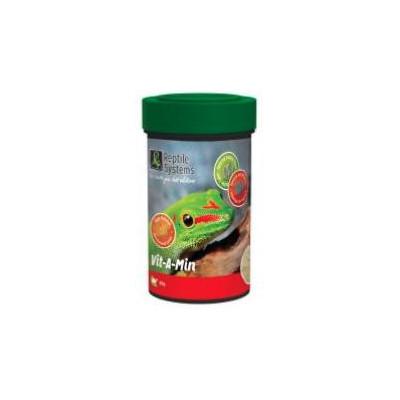 """Poudre multi-vitaminée premium """"Vit-A-Min"""" sans D3 de Reptile Systems"""