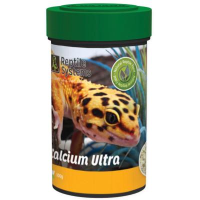 Calcium Ultra sans D3 de Reptile Systems