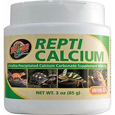 """Calcium """"Repti calcium avec D3"""" de Zoomed"""
