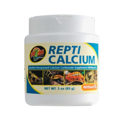 """Calcium """"Repti calcium sans D3"""" de Zoomed"""