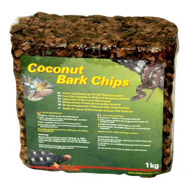 Coconut bark chips de Lucky reptile
