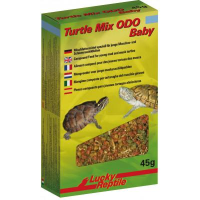 """Alimentation granulée pour Sternotherus/Kinosternon juvéniles """"Turtle mix ODO baby"""" de Lucky reptile"""