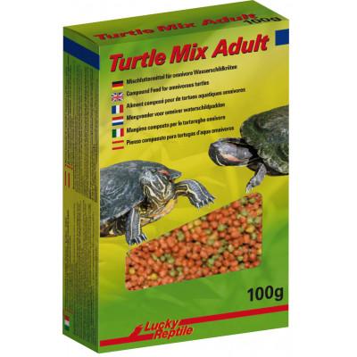 """Alimentation granulée pour tortues aquatiques """"Turtle mix adult"""" de Lucky reptile"""