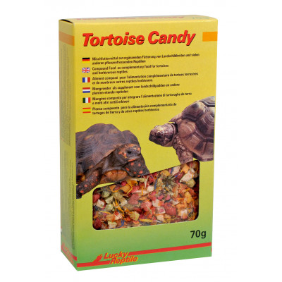 "Friandise pour tortues terrestres ""Tortoise candy"" de Lucky reptile"