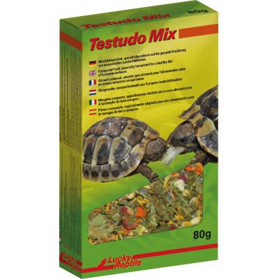 """Alimentation granulée pour tortues terrestres """"Tortoise mix"""" de Lucky reptile"""