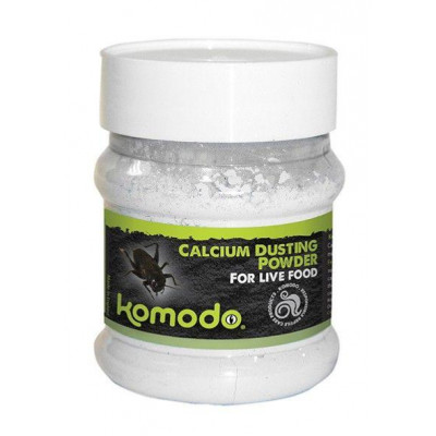 """Calcium en poudre """"Cricket dust"""" de Komodo"""
