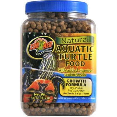 Alimentation en granulé pour tortues aquatiques juvéniles de Zoomed
