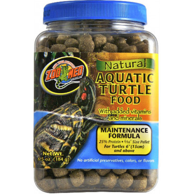 Alimentation en granulé pour tortues aquatiques adultes de Zoomed