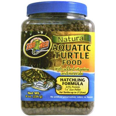 Alimentation en petits granulés pour jeunes tortues aquatiques adultes de Zoomed