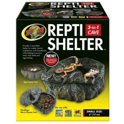 "Boîte humide céramique ""Repti shelter"" de Zoomed"