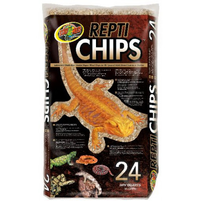 "Litière ""Repti chips"" de Zoomed"