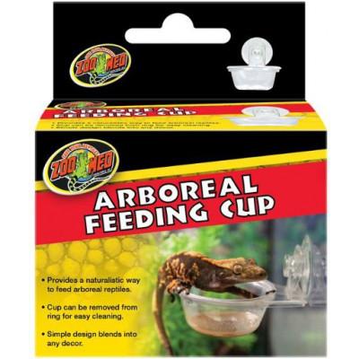 "Support à ventouser pour gamelle ""Arboreal feeding cup"" de Zoomed"