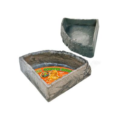 "Bol d'angle incassable ""Repti rock corner bowl"" de Zoomed"