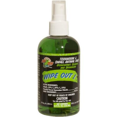 """Désinfectant nettoyant pour terrarium """"Wipe out 1"""" ZooMed"""