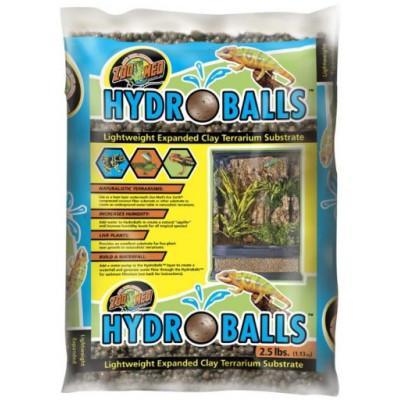 """Billes d'argile """"Hydroballs""""  Zoomed"""