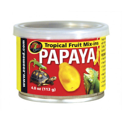 "Gelée de fruit en conserve ""Tropical fruit mix Papaya"" Zoomed"