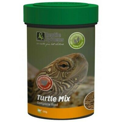 """Alimentation en granulés """"Turtle mix"""" pour tortues aquatiques de Reptile systems"""