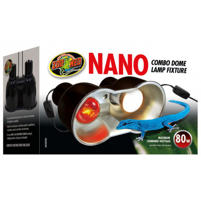 "Mini double porte-lampe ""Nano dôme"" de Zoomed"