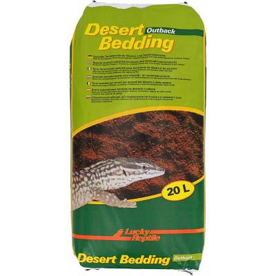 """Substrat sable argileux """"Desert bedding"""" Lucky reptile"""