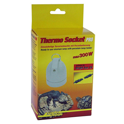 """Support d'ampoule à suspendre """"Thermo socket pro"""" Lucky reptile"""