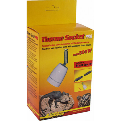 """Support d'ampoule dirigeable """"Thermo socket pro"""" de Lucky reptile"""
