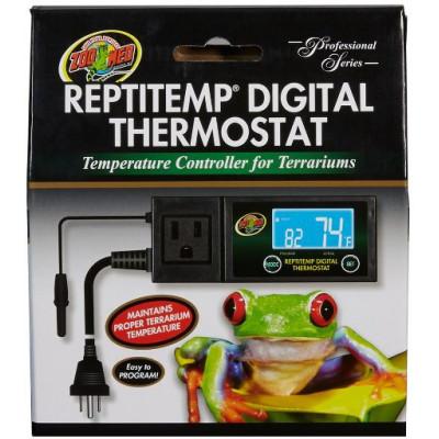 "Thermostat chauffage/refroidissement ""Repti Temp digital"" Zoomed"