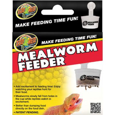 """Distributeur de vers """"Hanging mealworm feeder"""" Zoomed"""