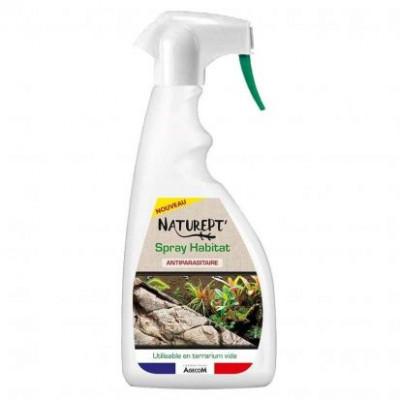 Spray habitat Naturept' pour traiter l'environnement du reptile