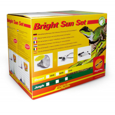Bright sun UV set jungle de Lucky reptile
