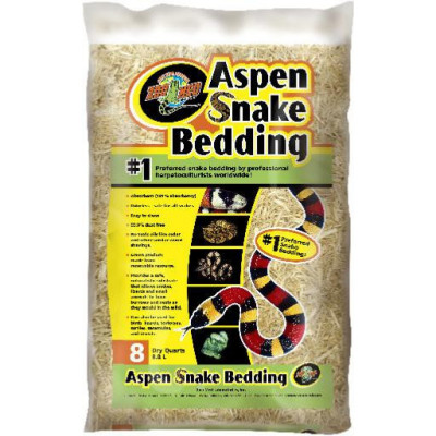 "Substrat ""Aspen Snake Bedding"" de Zoomed"