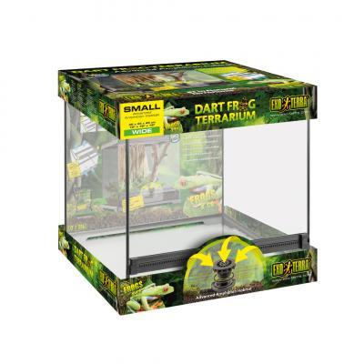 """Terrarium en verre """"Terrarium frog"""" Exo Terra"""