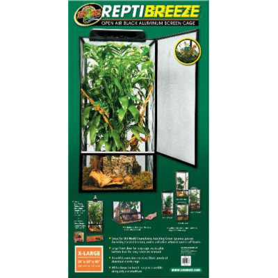 "Terrarium grillagé ""Repti breeze"" de Zoomed"