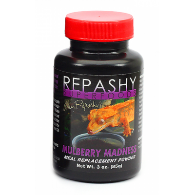 Repashy crested gecko Mulberry madness