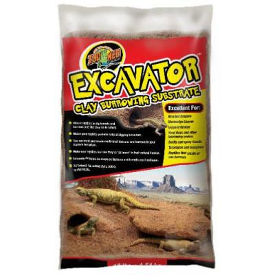 """Sable argileux pour reptiles désertiques """"Excavator"""" de Zoomed"""