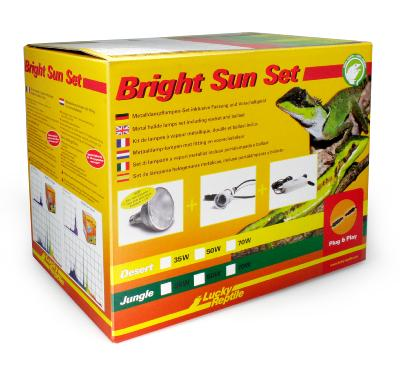 Bright sun UV set desert de Lucky reptile